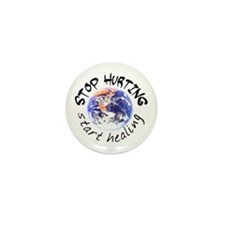 Start Healing the World Mini Button