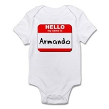 Hello my name is Armando Infant Bodysuit