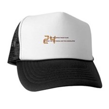 Chocolate & 24 Trucker Hat