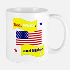 Red White and Blaine Mug