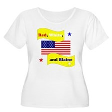 Red White and Blaine T-Shirt