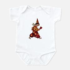Valentine Clown 1 Infant Bodysuit