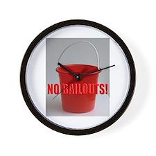 No Bailouts! Wall Clock