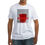 No Bailouts! Fitted T-Shirt