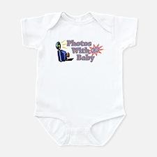 Photos With Baby $1.00 Infant Bodysuit