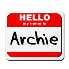 Hello my name is Archie Mousepad