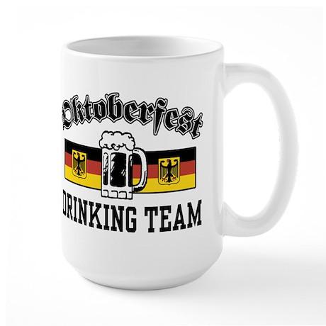 Oktoberfest Drinking Team Large Mug