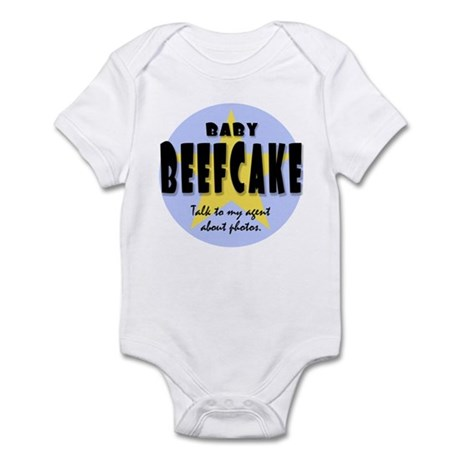 BABY BEEFCAKE Infant Bodysuit