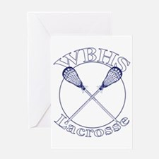 West Beverly Hills High Lax Greeting Card