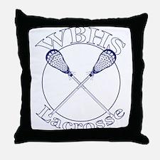 West Beverly Hills High Lax Throw Pillow