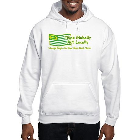 Ecology American Flag Hooded Sweatshirt