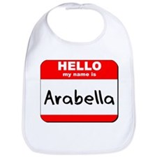 Hello my name is Arabella Bib