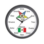 OES Mexico Wall Clock