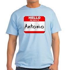 Hello my name is Antonio T-Shirt
