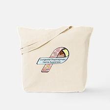 Autumn Turner CDH Awareness Ribbon Tote Bag