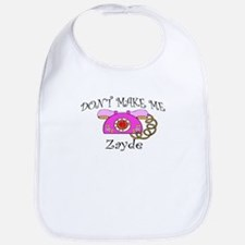 Call Zayde Girl Bib