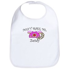Call Zeidy Girl Bib