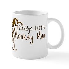 Daddys little Monkey Man Mug