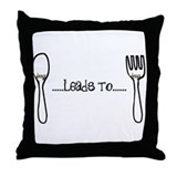 College humor Throw Pillows