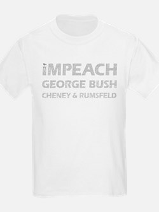 Constitutional Impeach Bush Kids T-Shirt