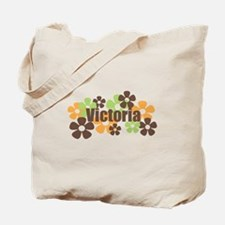 Victoria - Fall Flowers Tote Bag