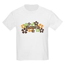 Victoria - Fall Flowers T-Shirt
