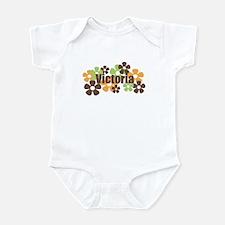 Victoria - Fall Flowers Infant Bodysuit