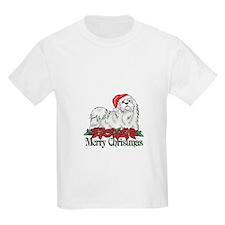 Poinsettia Maltese T-Shirt
