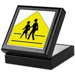 School Crossing Sign - Keepsake Box