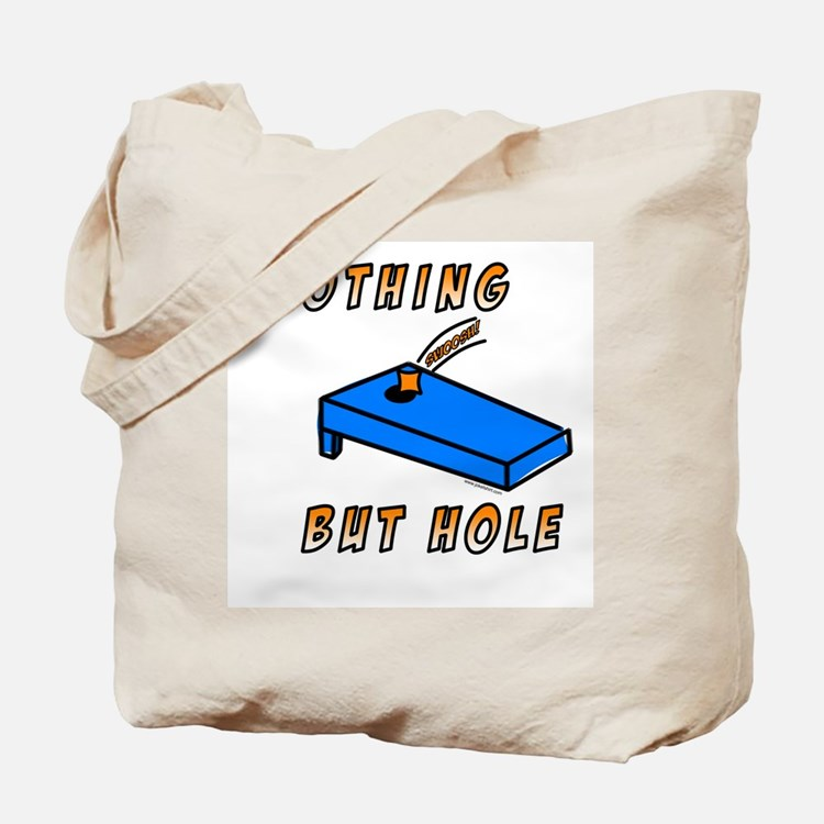 Nothing But Hole Tote Bag