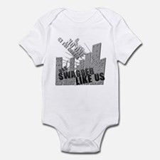 No One On The Corner Has Swag Infant Bodysuit