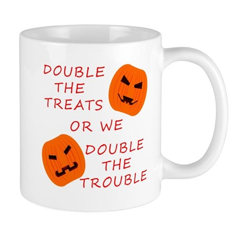Double Tricks or Treats Mug