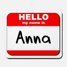 Hello my name is Anna Mousepad