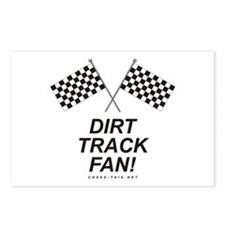 Checker Flag Dirt Postcards (Package of 8)