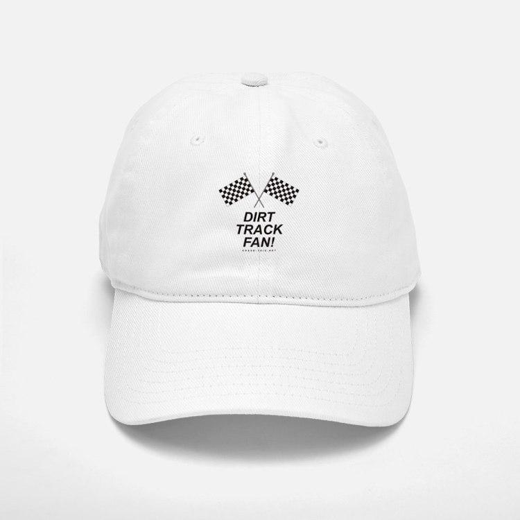 Checker Flag Dirt Baseball Baseball Cap