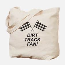 Checker Flag Dirt Tote Bag