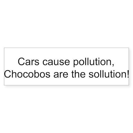 Chocobo Bumper Sticker