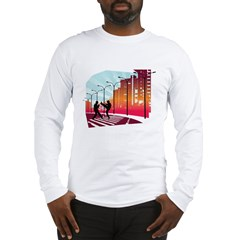 Kicking in the City Long Sleeve T-Shirt