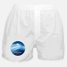 Obama-Biden Blue Light Boxer Shorts