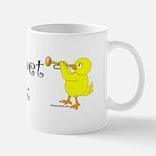 Trumpet Chick Mug