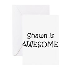 Unique I love shawn Greeting Cards (Pk of 10)