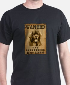 """Wanted"" Leonberger T-Shirt"