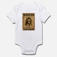 """Wanted"" Leonberger Infant Bodysuit"