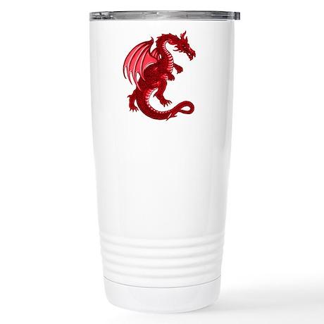 Red Dragon Stainless Steel Travel Mug