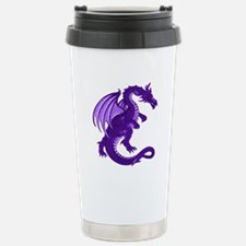 Purple Dragon Stainless Steel Travel Mug