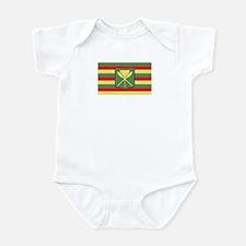 Kanaka Maoli Flag Infant Bodysuit