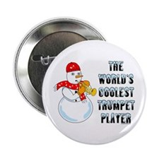"Coolest Trumpet 2.25"" Button"