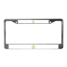 Cool Masonic symbol License Plate Frame