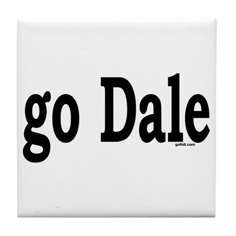 go Dale Tile Coaster