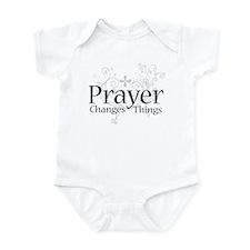 Prayer Changes Things Onesie